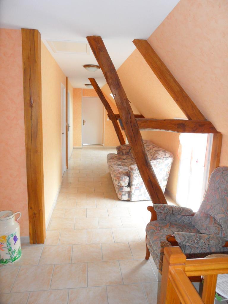 Couloir donnant accès aux chambres - Etage